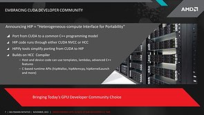 "AMD ""Boltzmann Initiative"" – Slide 7"