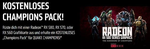"AMD ""Champions Pack"" für Quake Champions"