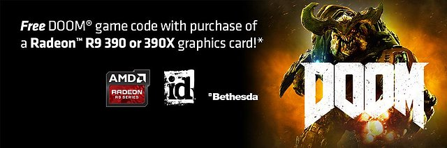 "AMD ""Doom (2016)"" Spielebundle"