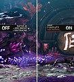 "AMD FSR-Vergleichsbild off/on (@ ""Ultra Quality"")"