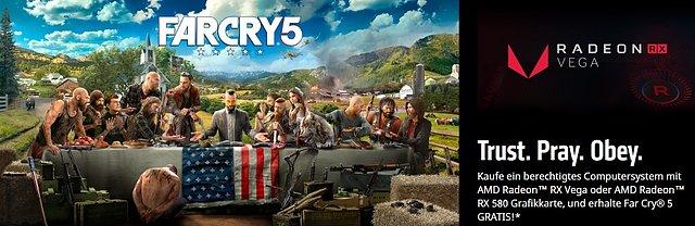 "AMD ""FarCry 5"" Spielebundle"