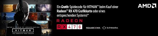 """AMD """"Hitman (2016)"""" Spielebundle"""