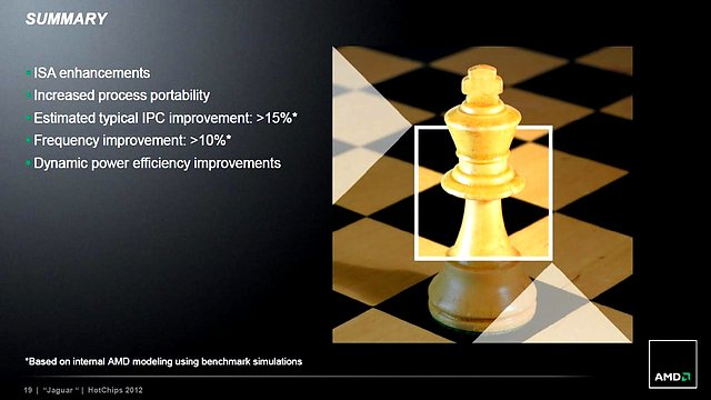 AMD Jaguar-Präsentation (Slide 19)