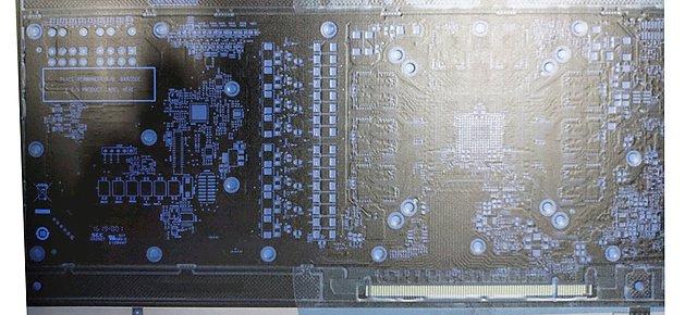 (angebliche) AMD Navi Platine (Rückseite)