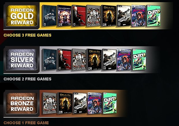 "AMD ""Never Settle Forever"" Spielebundles (November 2013)"