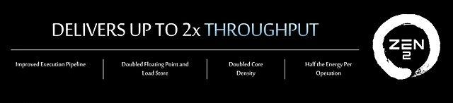 AMD Next Horizon 2018 Präsentation: Zen 2 Durchsatz