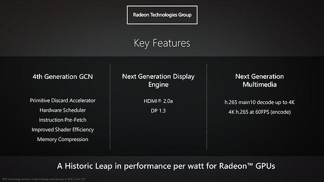 "AMD ""Polaris"" Präsentation (Slide 05)"
