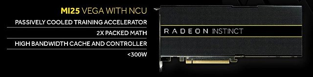 AMD Radeon Instinct MI25 Spezifikationen