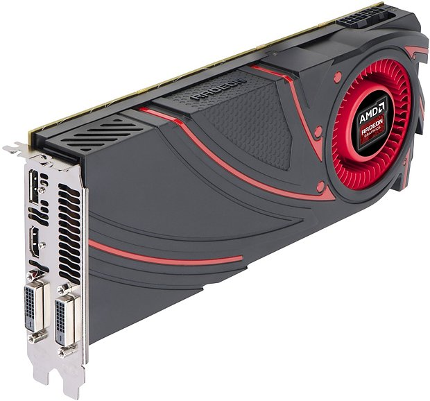 AMD Radeon R9 290 Referenz-Board