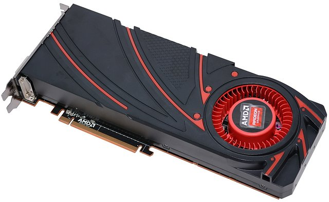 AMD Radeon R9 290X Referenz-Board