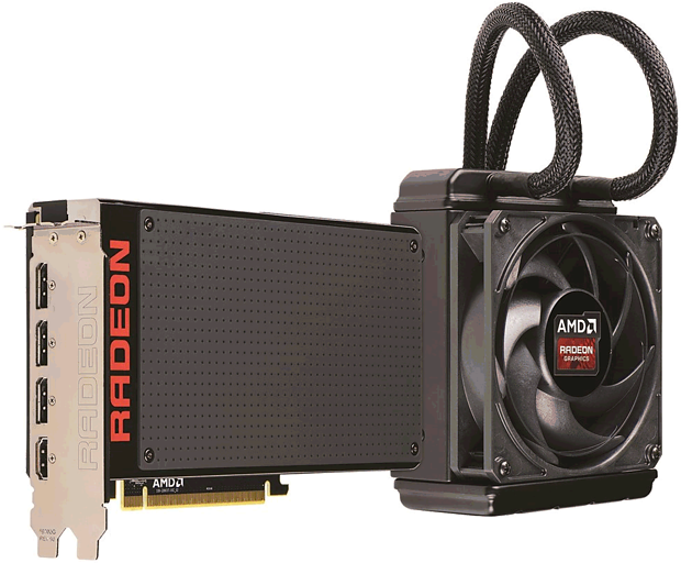 AMD Radeon R9 Fury X (Referenzdesign)