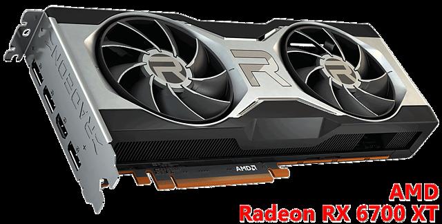 AMD Radeon RX 6700 XT (Referenzdesign)