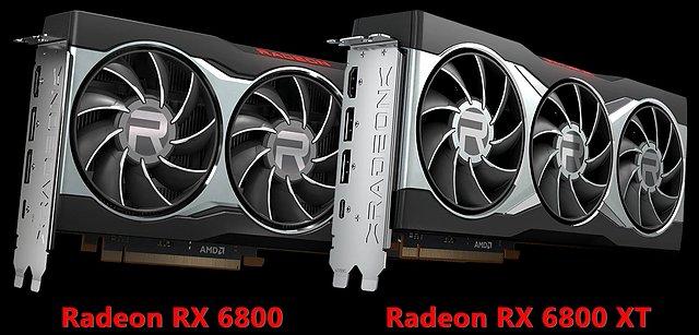 AMD Radeon RX 6800 & Radeon RX 6800 XT im Referenz-Design