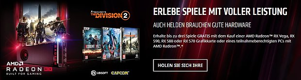 "AMD ""Raise the Game"" Spielebundle November 2018"