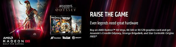 "AMD ""Raise the Game"" Spielebundle"