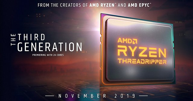 AMD Ryzen Threadripper 3000 im November 2019