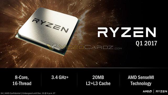 "AMD ""Ryzen"" Präsentation (Slide 24)"