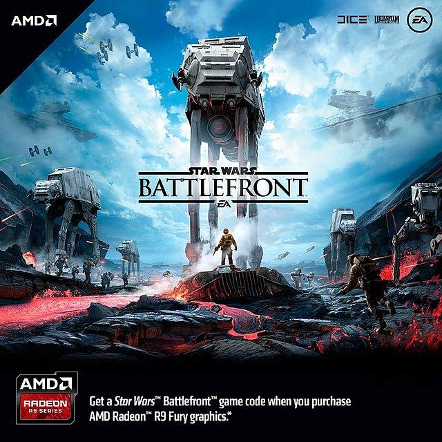"""AMD """"Star Wars Battlefront"""" Spielebundle"""