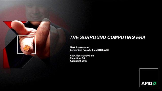 AMDs Steamroller-Präsentation (Slide 00)