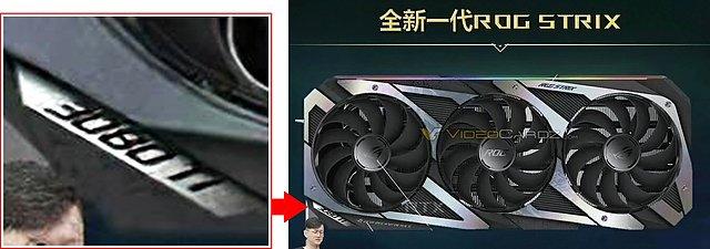(vermeintliche) Asus ROG Strix GeForce RTX 3080 Ti