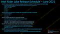"""Intel """"Alder Lake"""" Leak von MLID vom Juni 2021, Teil 2"""