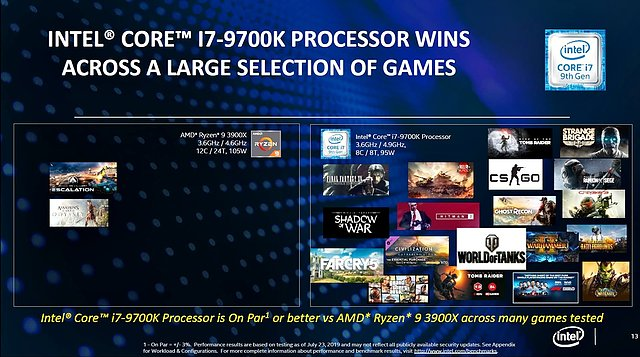 Intel sieht Core i7-9700K & i9-9900K noch vor Ryzen 9 3900X (Bild 4)