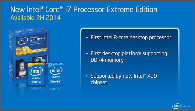 Intels Desktop-Roadmap für 2014: Haswell-E