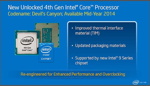 Intels Desktop-Roadmap für 2014: Neue Haswell-K Modelle