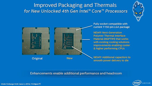 "Intel ""Devils Canyon"" Verbesserungen"