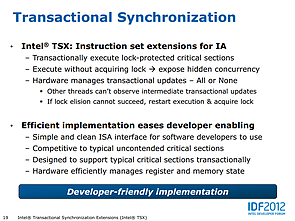 Intel Haswell-Präsentation (Slide 19)
