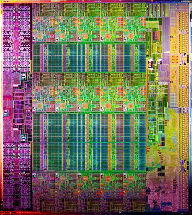 Intel Ivy Bridge EP/EX Prozessoren-Die für 15 Kerne