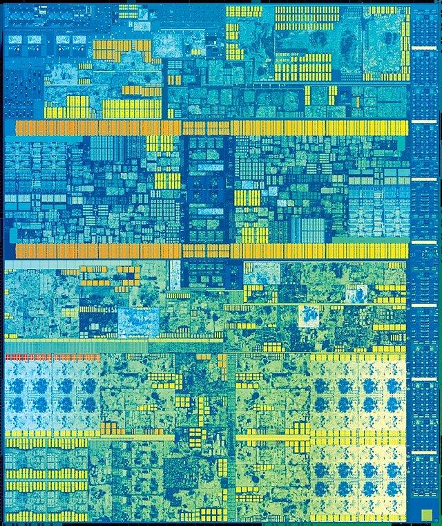 """Intel """"Kaby Lake"""" Die 2C+GT2"""