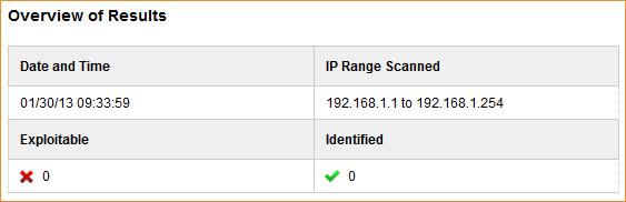 Rapid7 ScanNow UPnP - Resultate