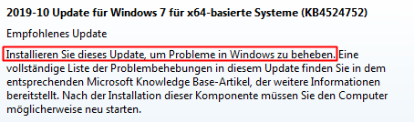 Windows-Update KB4524752