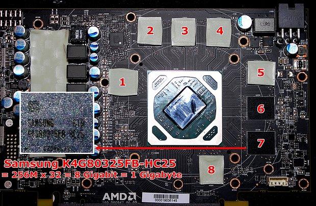 XFX Radeon RX 480 4GB mit 8 GB verbautem Speicher