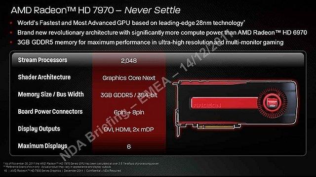 Präsentationsfolien zur Radeon HD 7970, Folie 3