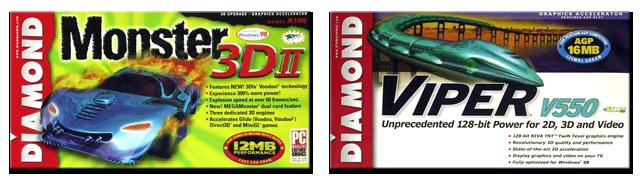 Diamond Multimedia Monster und Viper