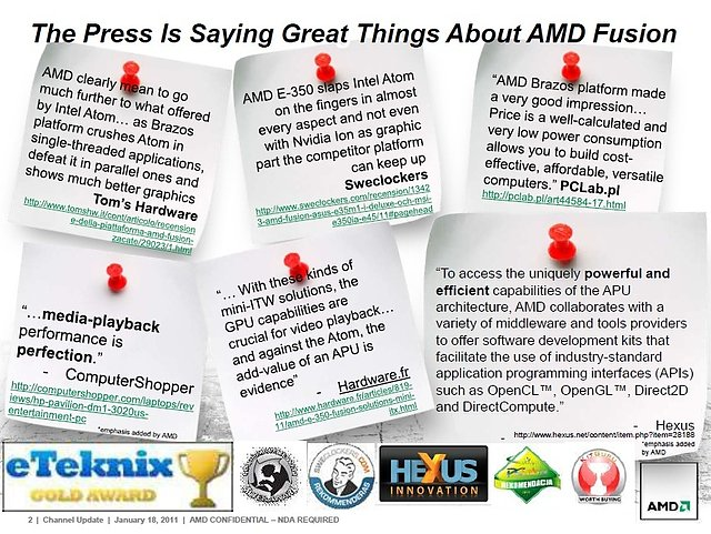 AMDs Präsentation zur Llano-Prozessorenarchitektur, Teil 2
