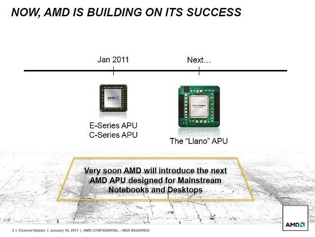 AMDs Präsentation zur Llano-Prozessorenarchitektur, Teil 3