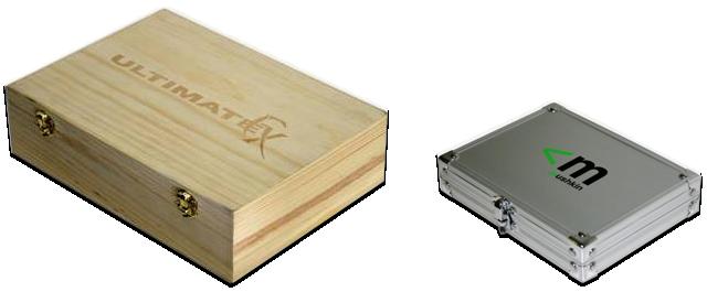 Mushkin Holz und Alu Box