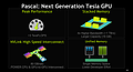 nVidia ASC15-Präsentation - Slide 43 (Pascal-Architektur)