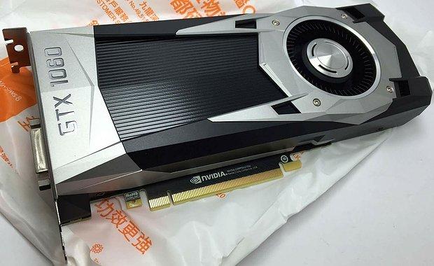 nVidia GeForce GTX 1060 (Referenzdesign)