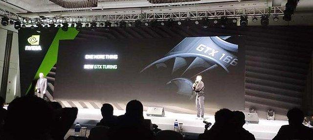 nVidia GeForce GTX 1660 Präsentation