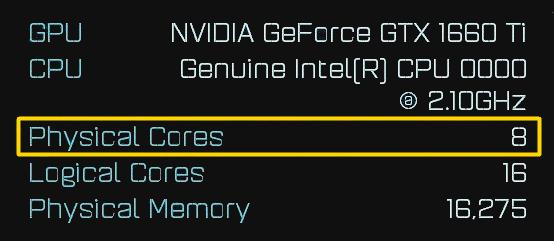 GeForce GTX 1660 Ti & Intel mobile 8-Kern-CPU auf AotS