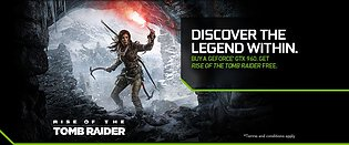 "nVidia GeForce GTX 960 ""Rise of the Tomb Raider"" Spielebundle"