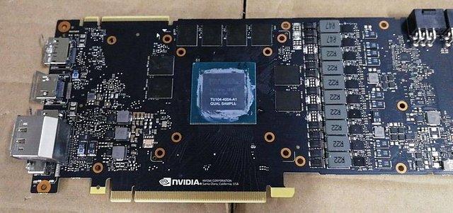 nVidia GeForce RTX 2080 Referenzplatine