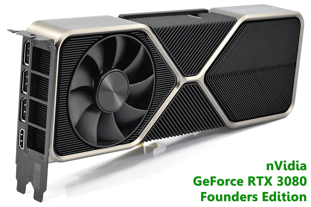 """nVidia GeForce RTX 3080 """"Founders Edition"""""""