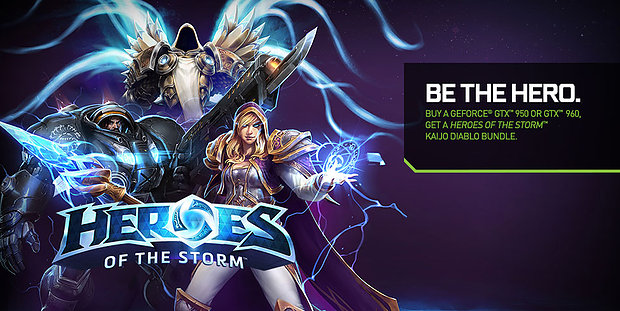 "nVidia ""Heroes of the Storm"" Itembundle"