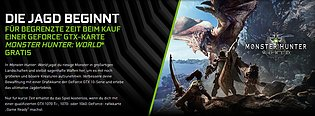"nVidia ""Monster Hunter World"" Spielebundle"