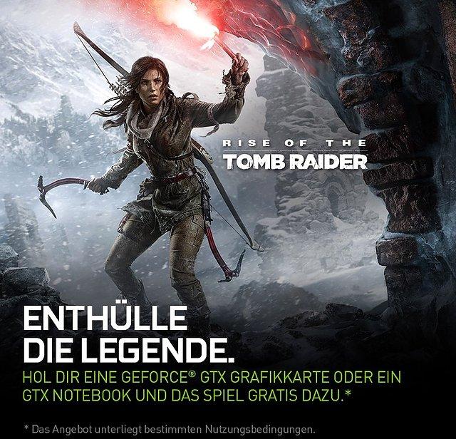 "nVidia ""Rise of the Tomb Raider"" Spielebundle"